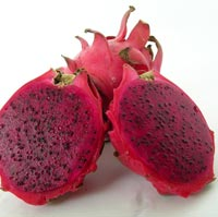 red dragon fruit product red flesh